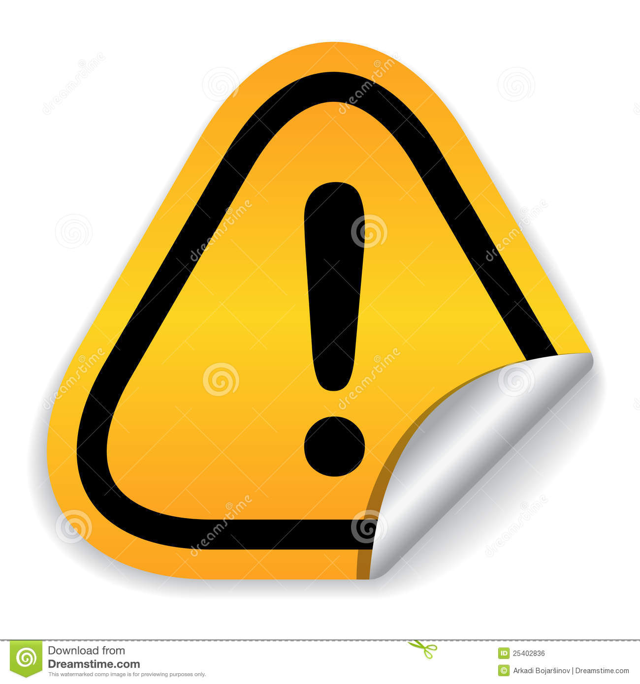 Attention Sign Royalty Free Stock Image - Image: 25402836