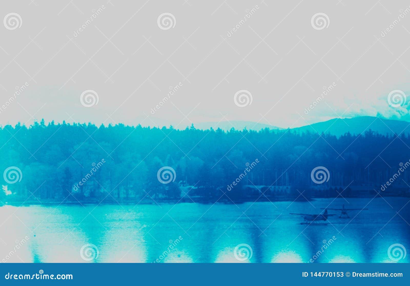 Atterraggio sull acqua a Vancouver