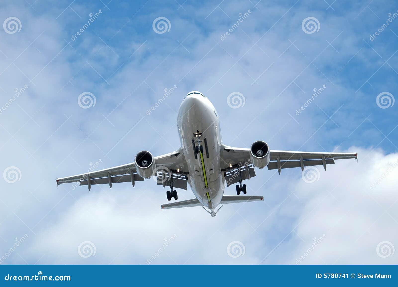 Atterrissage d avion à réaction