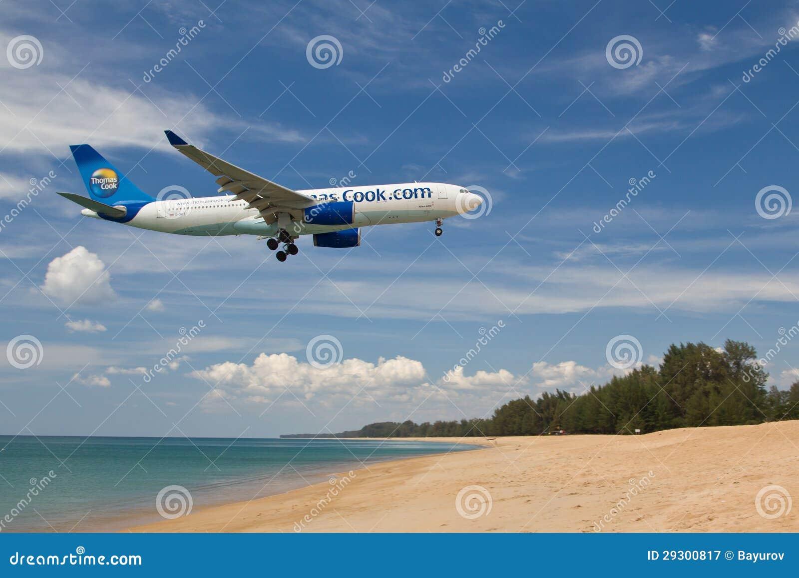 Atterrissage d avions