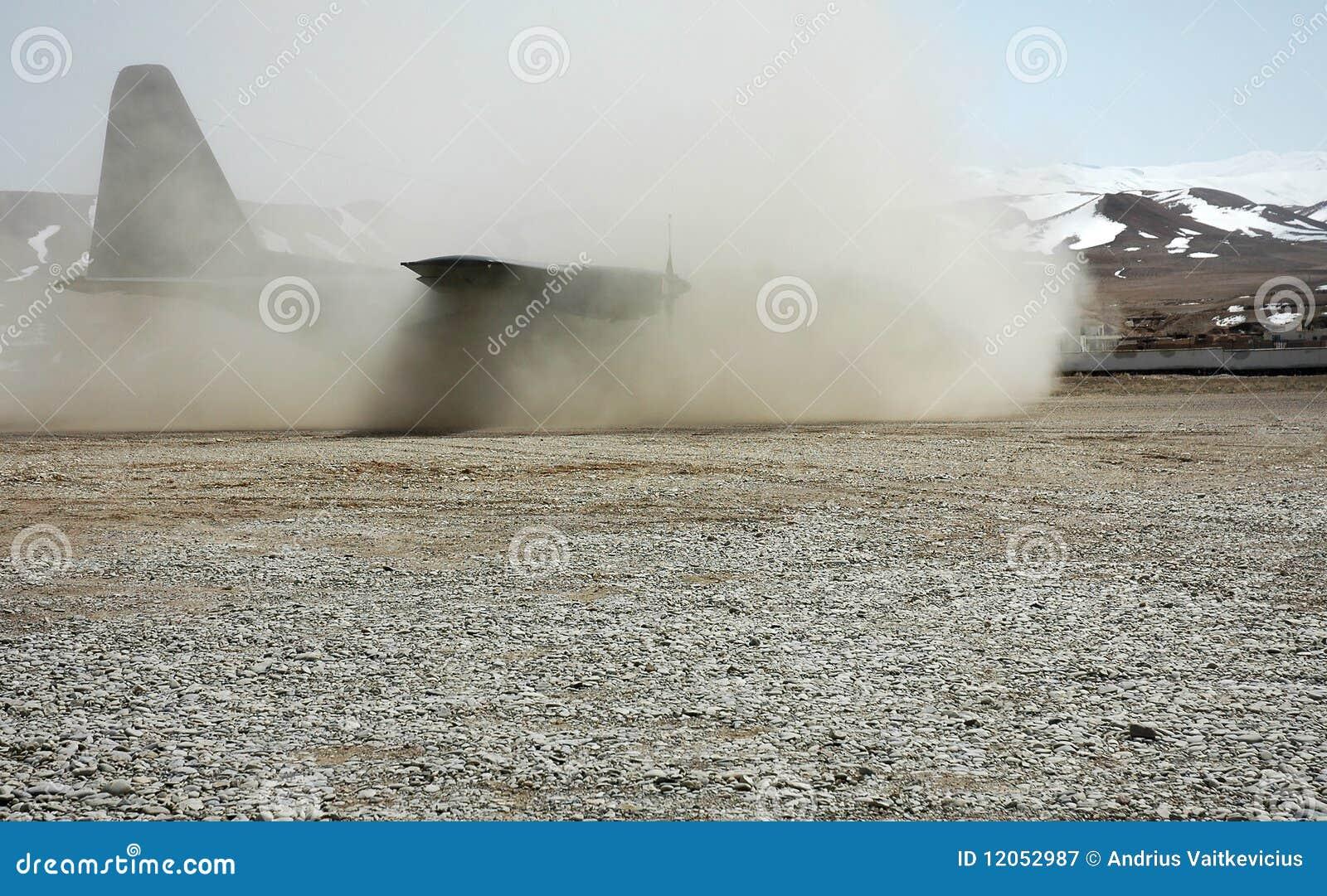Atterrissage en Afghanistan