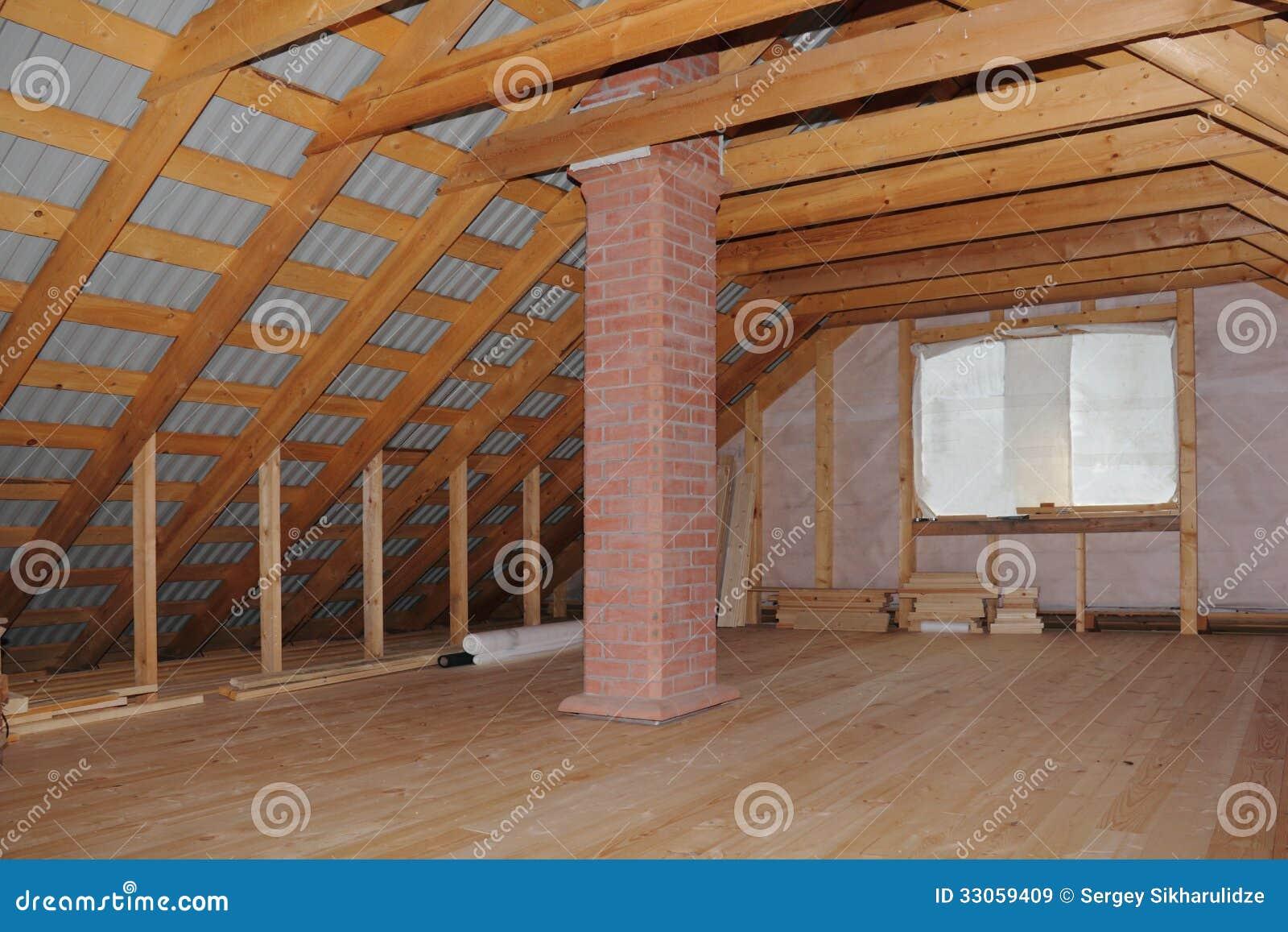 Переделка крыши под мансарду