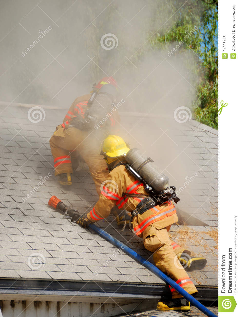 Attic Fire Royalty Free Stock Photo Image 24886415
