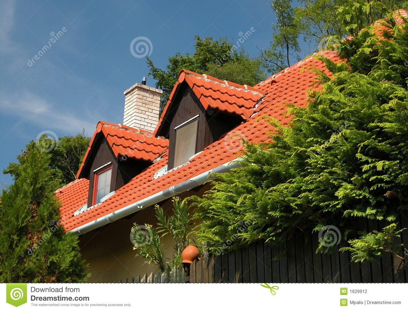 Attic Rooms Stock Photography - Image: 1629912