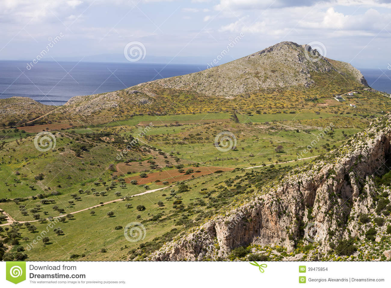 Attica greek landscape stock photo image 39475854 for Nearby landscapers