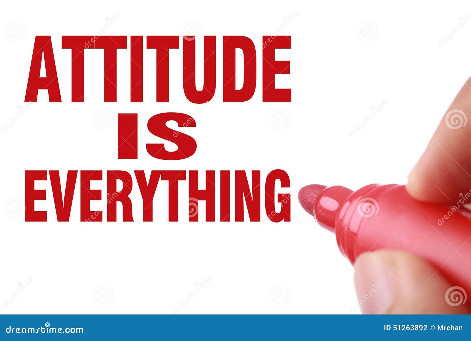 essay on attitude is everything