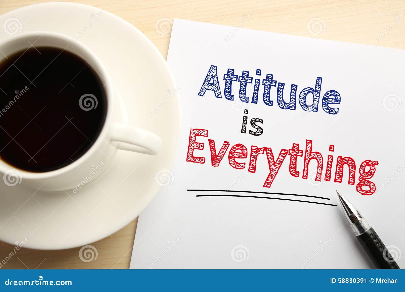 604 words essay on Attitude
