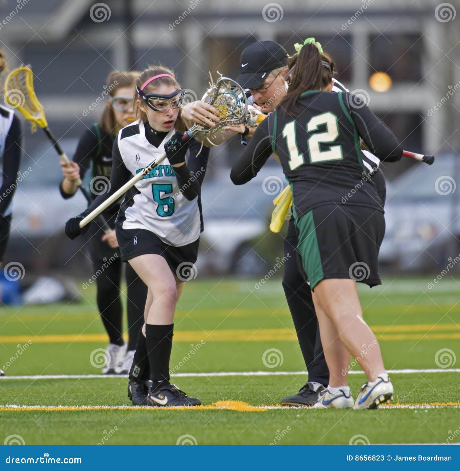Attraction de Lacrosse de filles