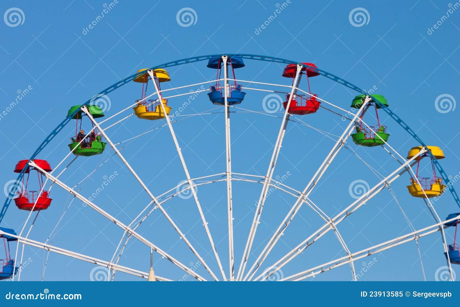 Download Attraction Ferris wheel stock image. Image of amusement - 23913585