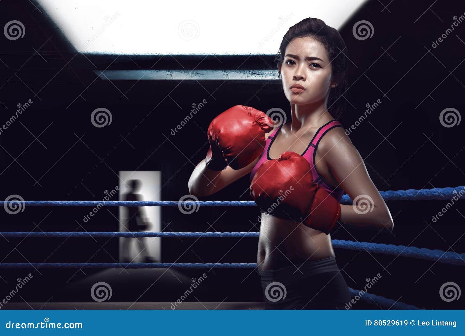 asian girls boxing