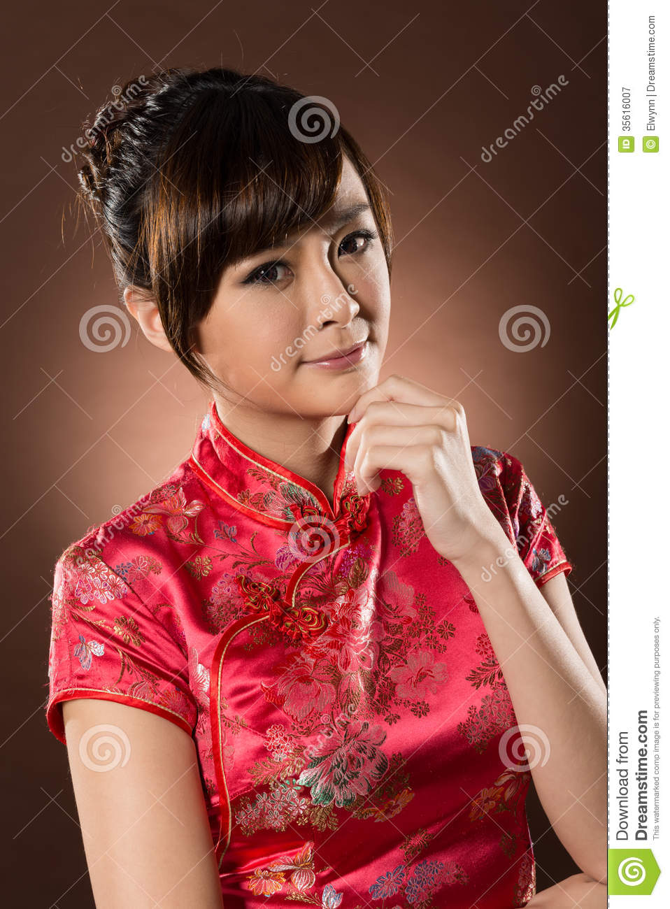 Attractive Chinese Woman Royalty Free Stock Photography - Image ...