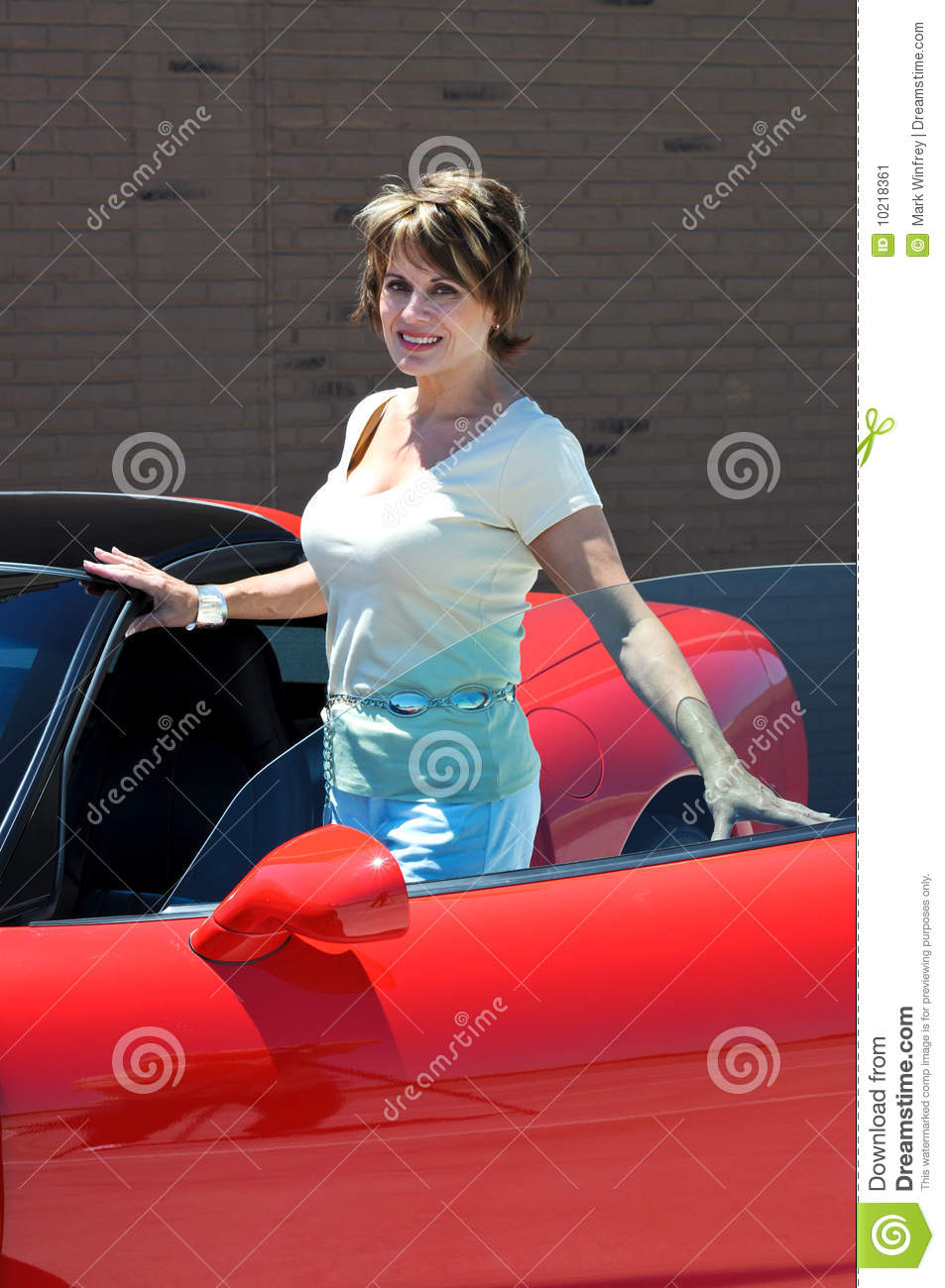 Attractive Confident Woman Stock Image Image 10218361