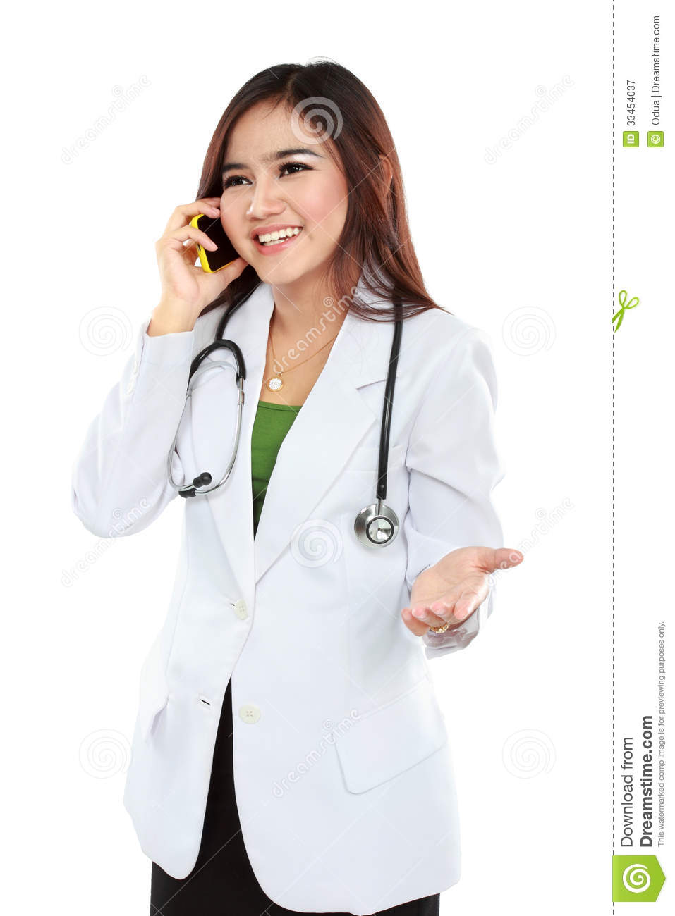 Female Doctor White Coat