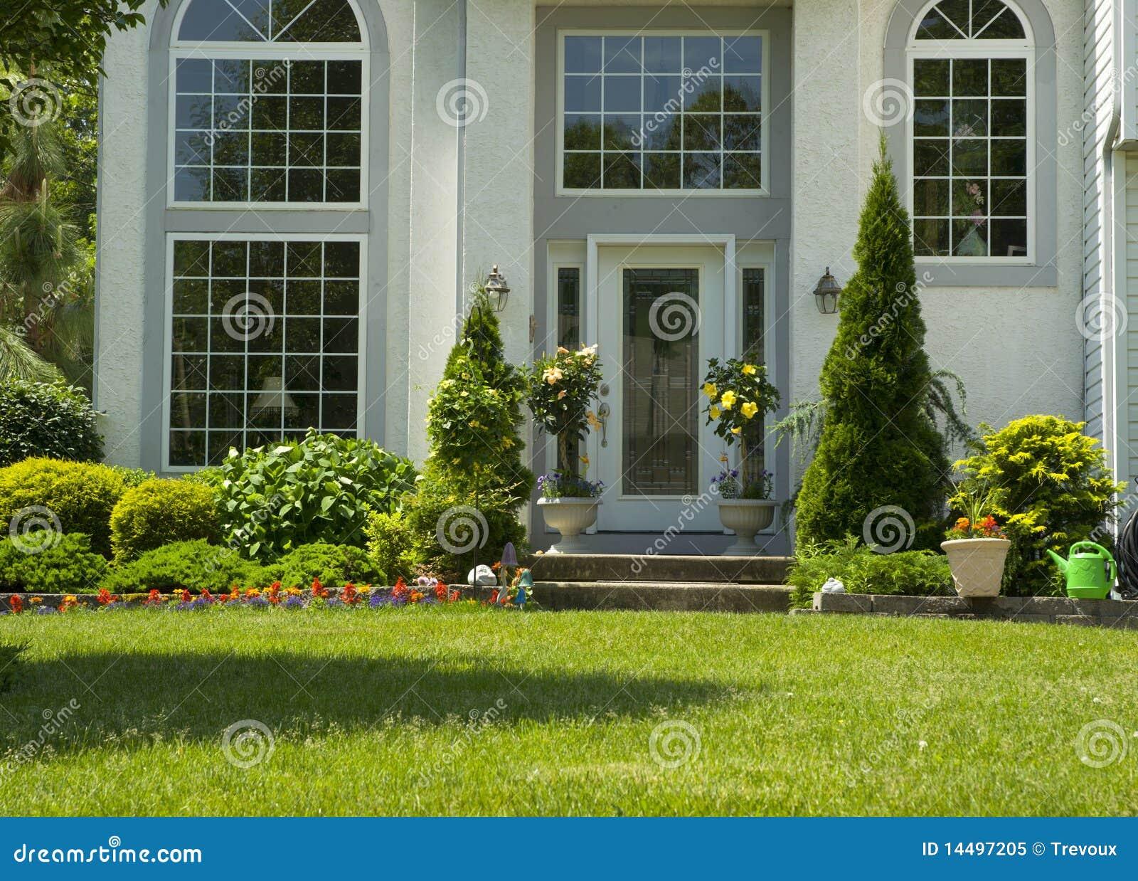 Attractive Front Door Royalty Free Stock Photo Image