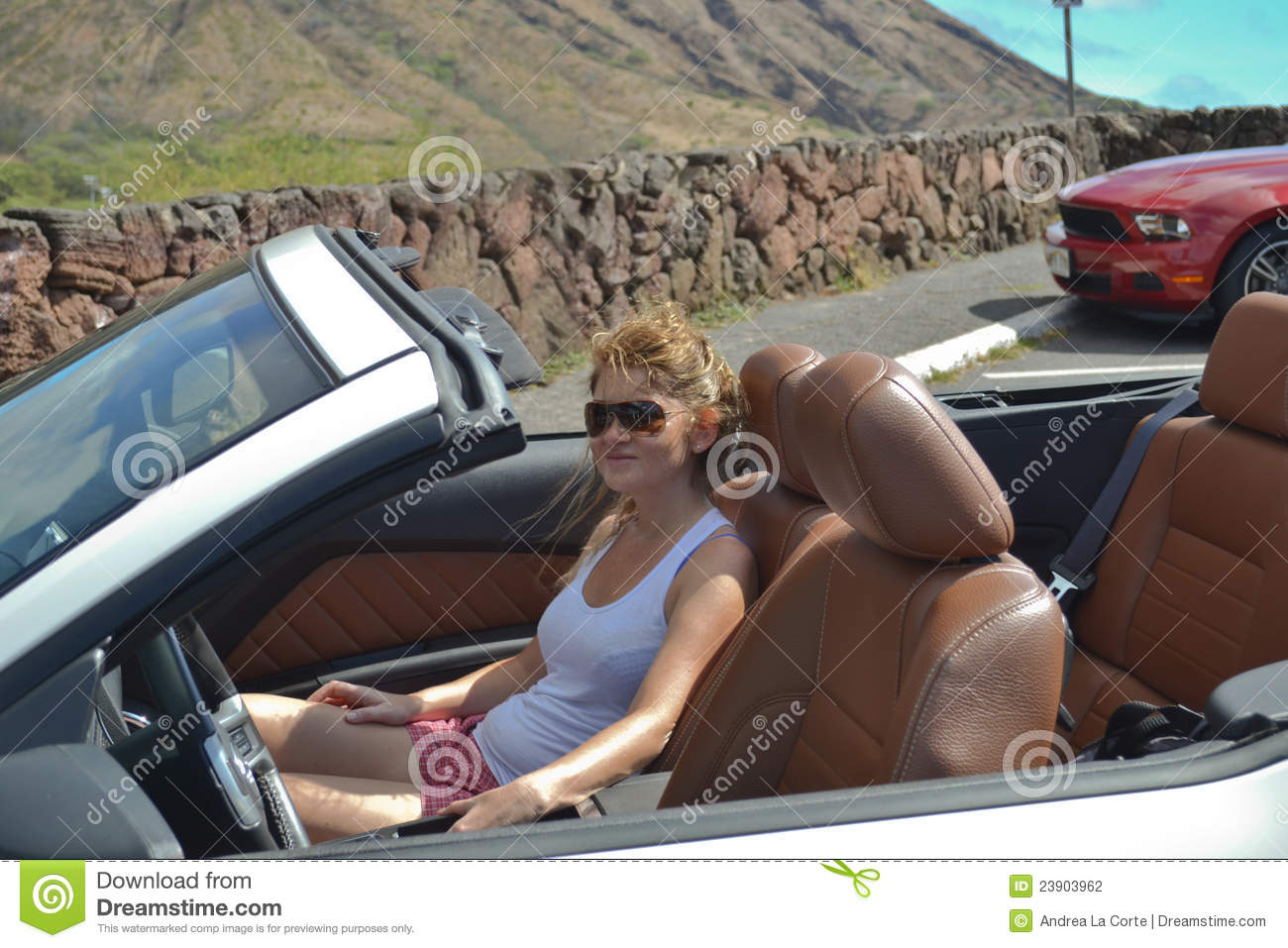 Video naked girl driving convertible cars sorry