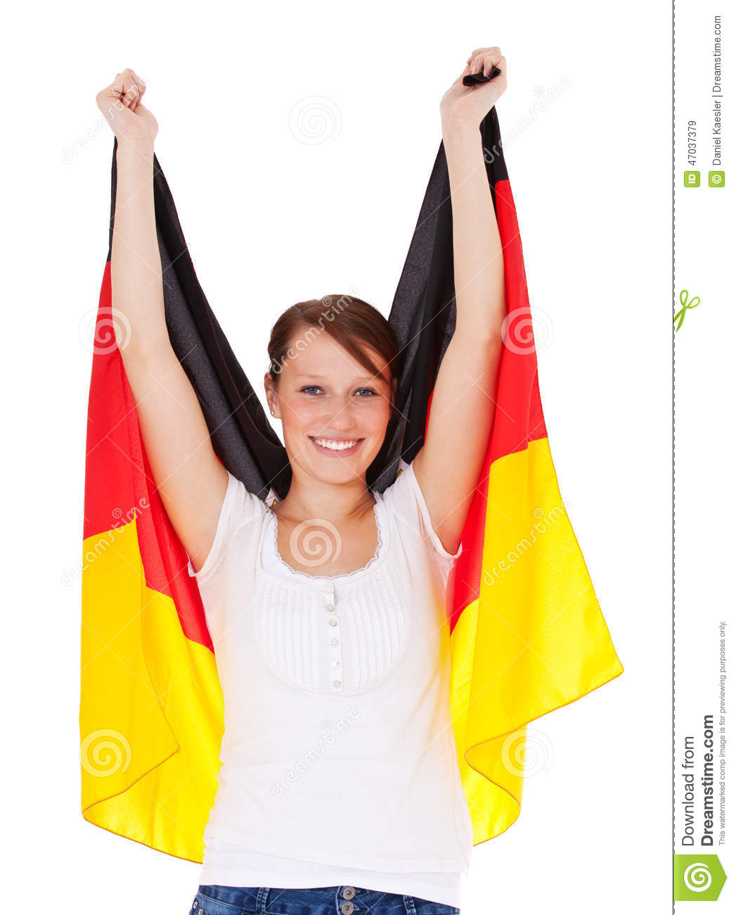 German flag sexy girls senseless