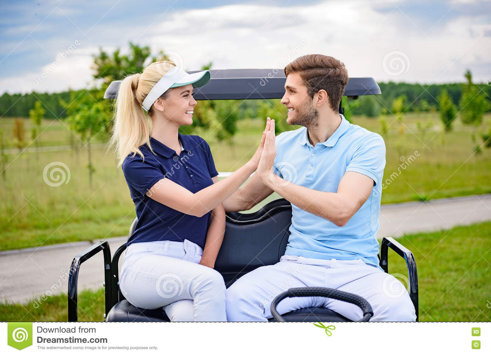 Consider, thumb down golf speaking