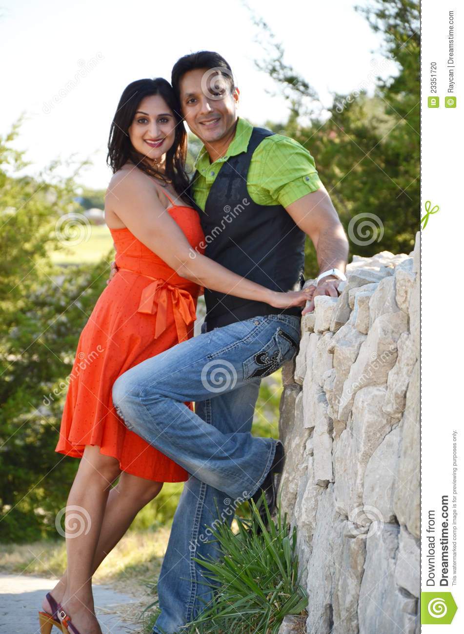 Attractive Indian Couple Stock Photo Image Of Companionship 23351720