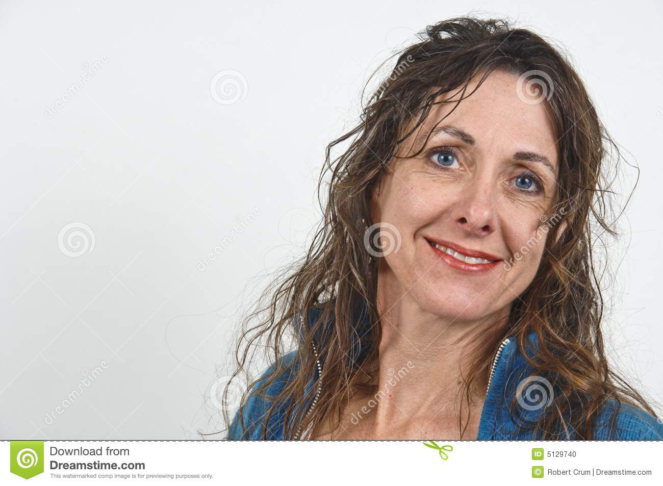 Attractive Middle Aged Woman Stock Photo Image Of