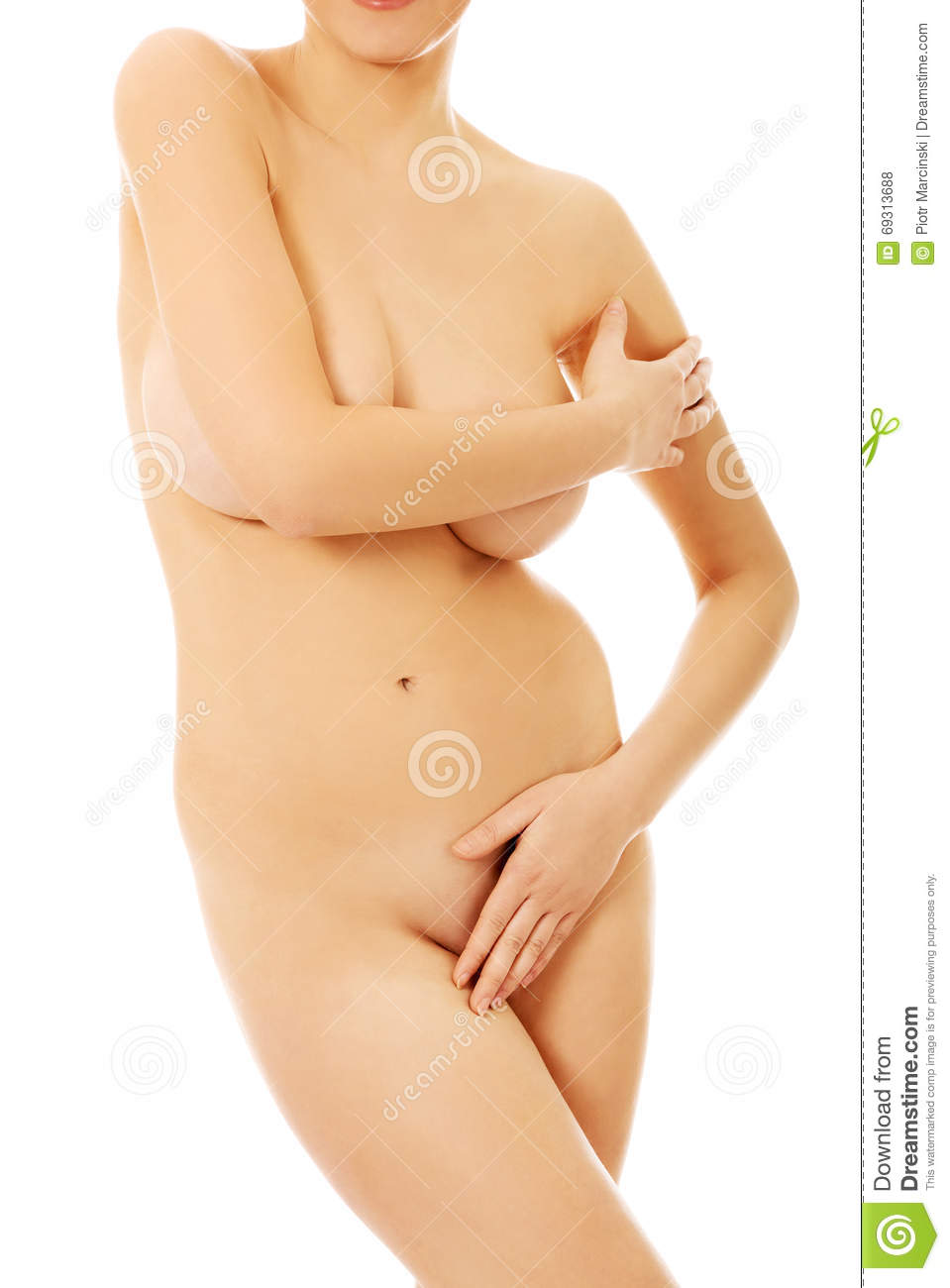nude-woman-covering-herself