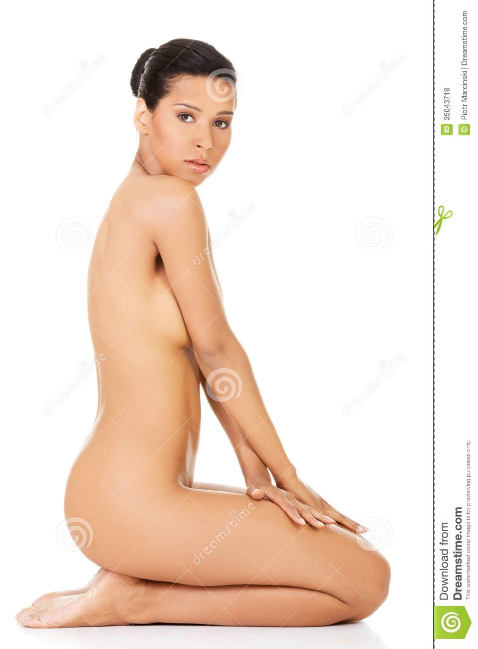 Think, Nude from all sides