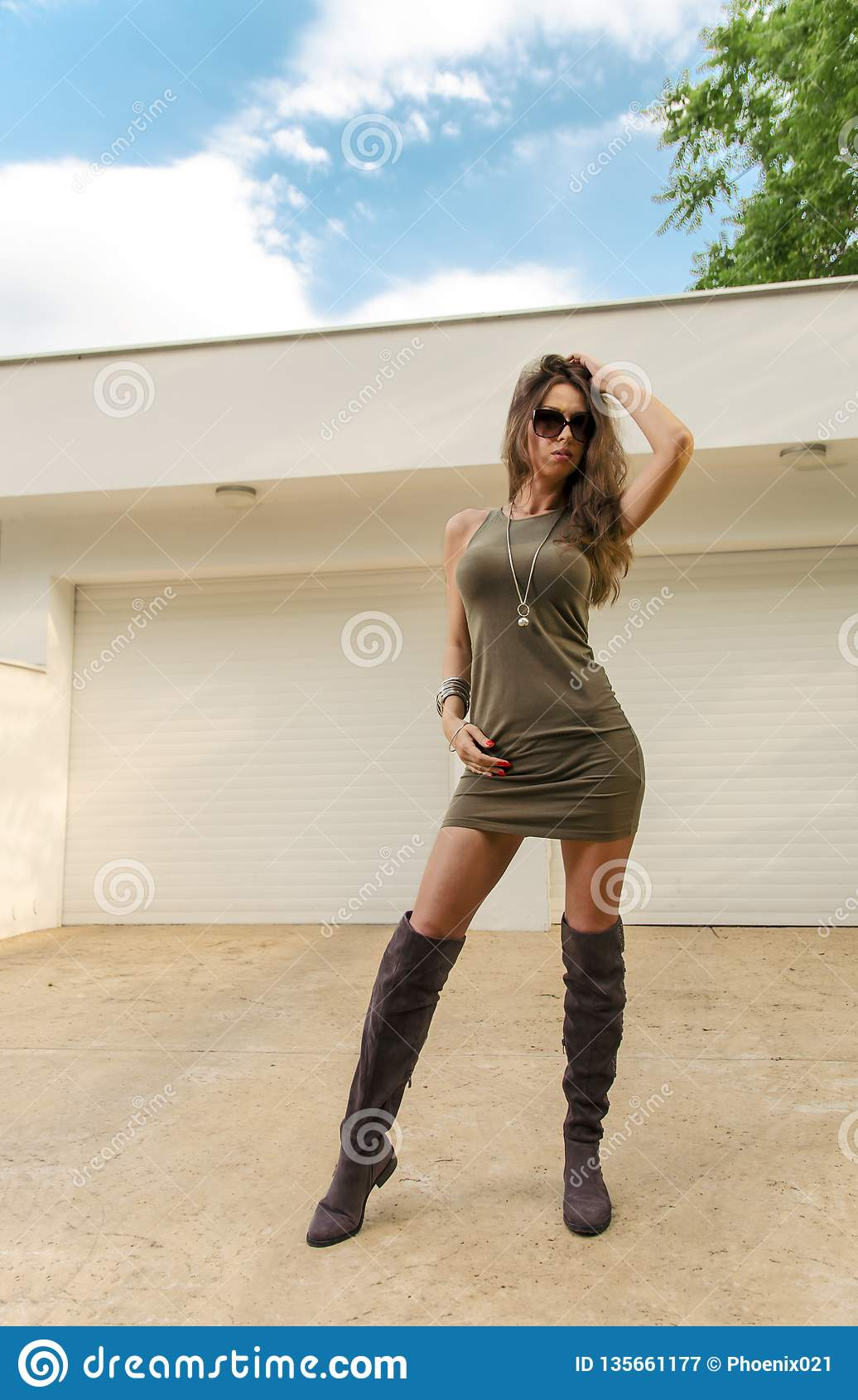 Naked Women Wearing Boots