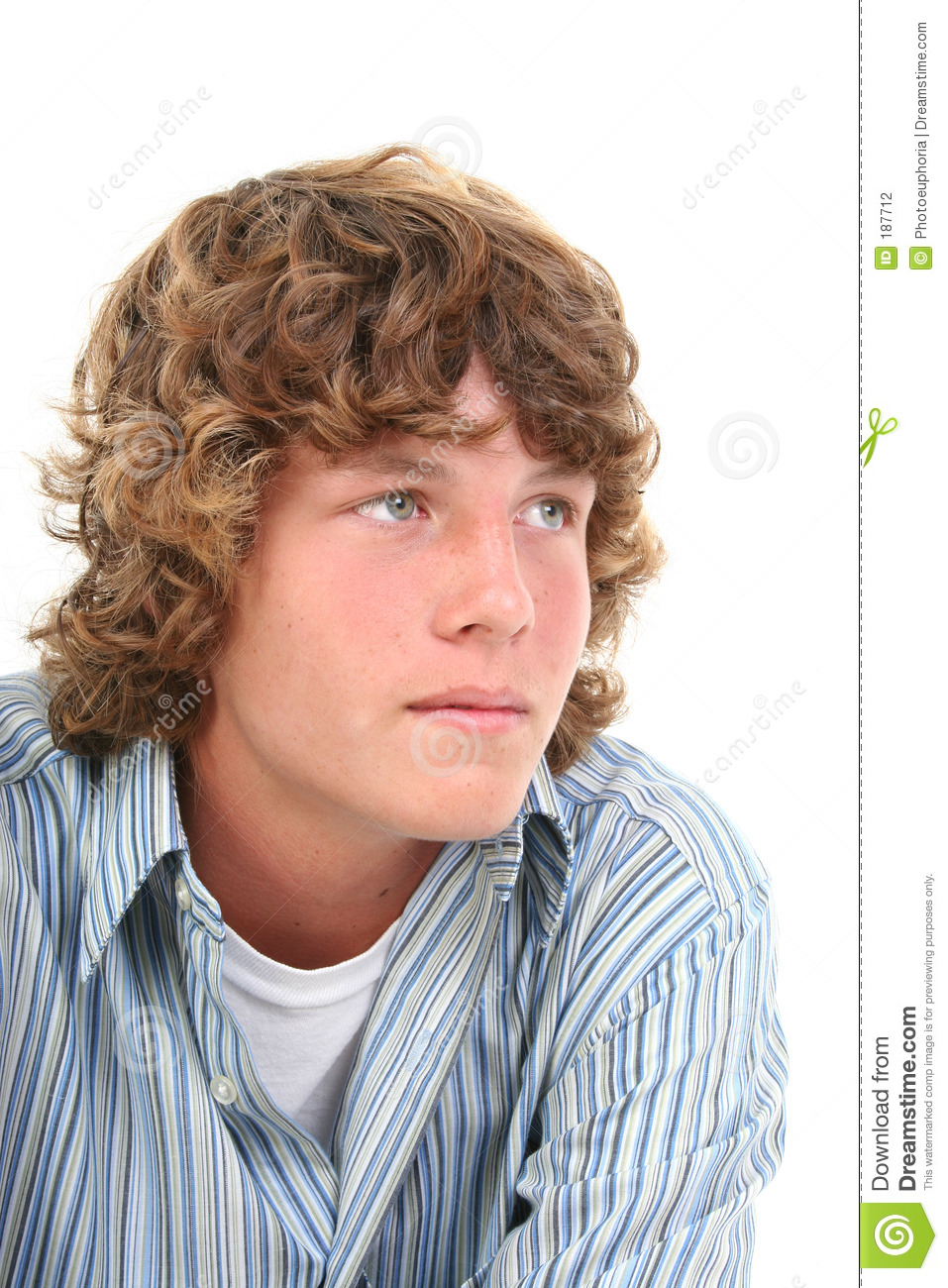 Young Boys With Brown Hair