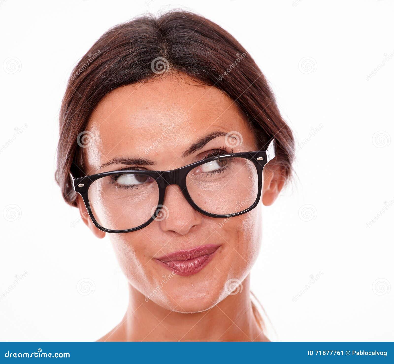 Sexy Nude Teen Girls Wearing Reading Glasses - HOT GIRLS