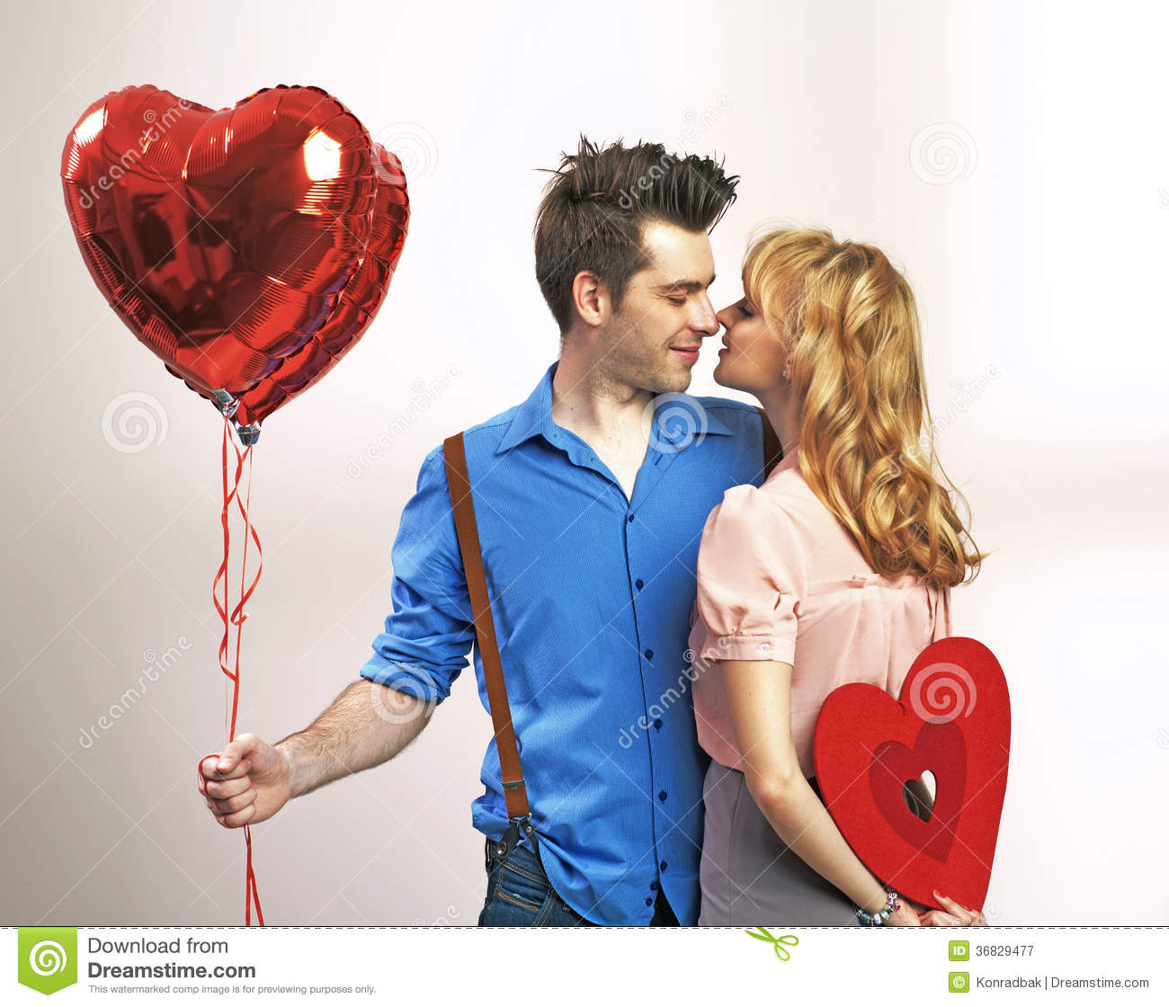 attractive young couple during valentines day stock photo 36829477 megapixl