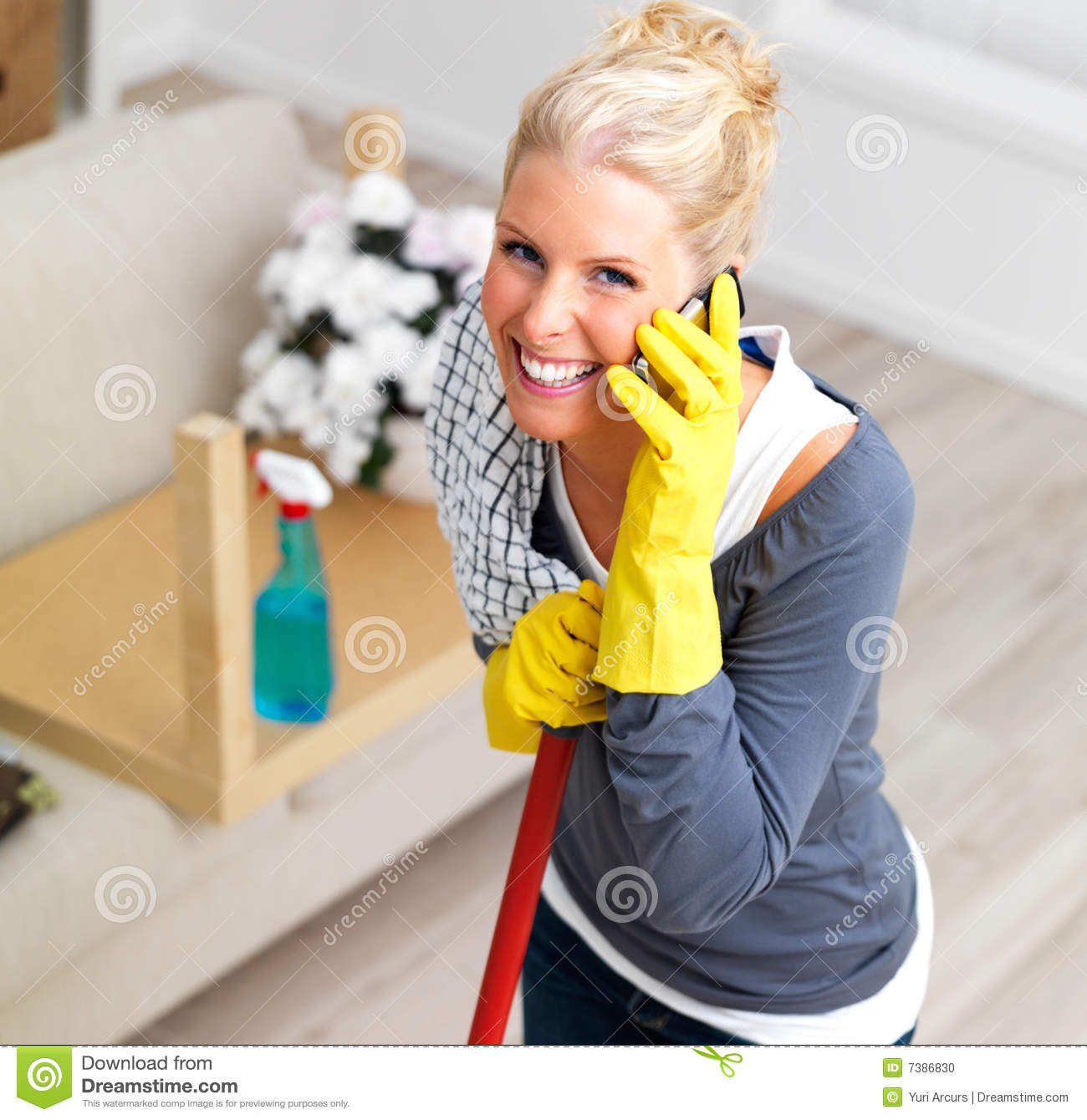 dating a cleaning lady