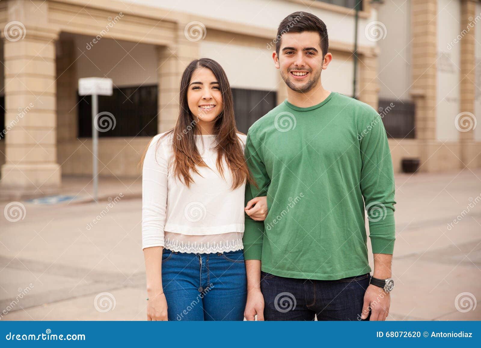 Latina couple