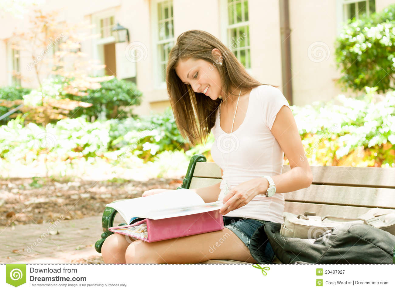 ... Young Student Royalty Free Stock Photography - Image: 20497927: www.dreamstime.com/royalty-free-stock-photography-attractive-young...