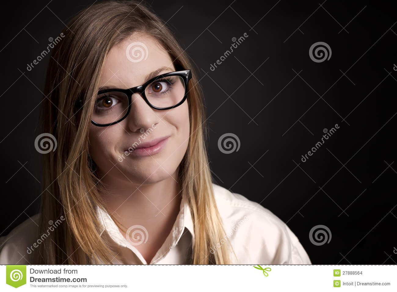 Naked pictures of black girl with glasses-9596