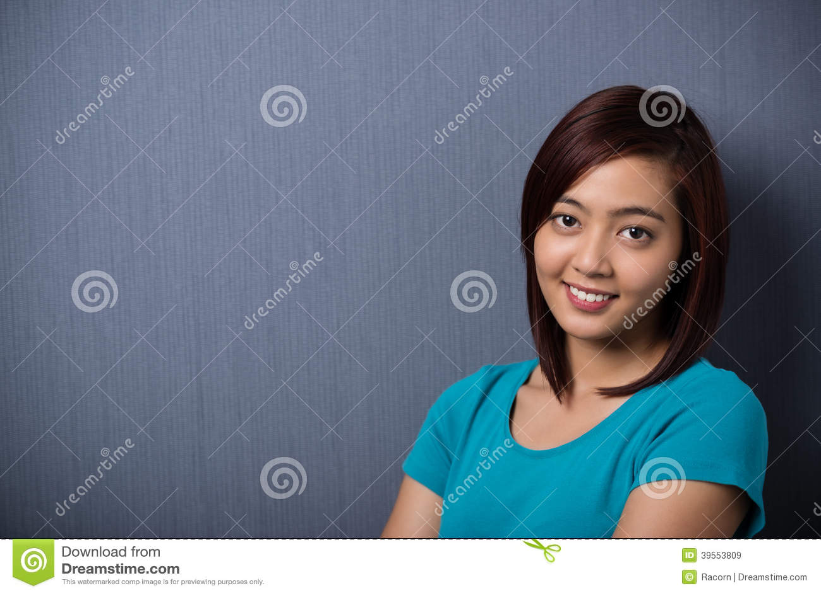 Junge Asiatin