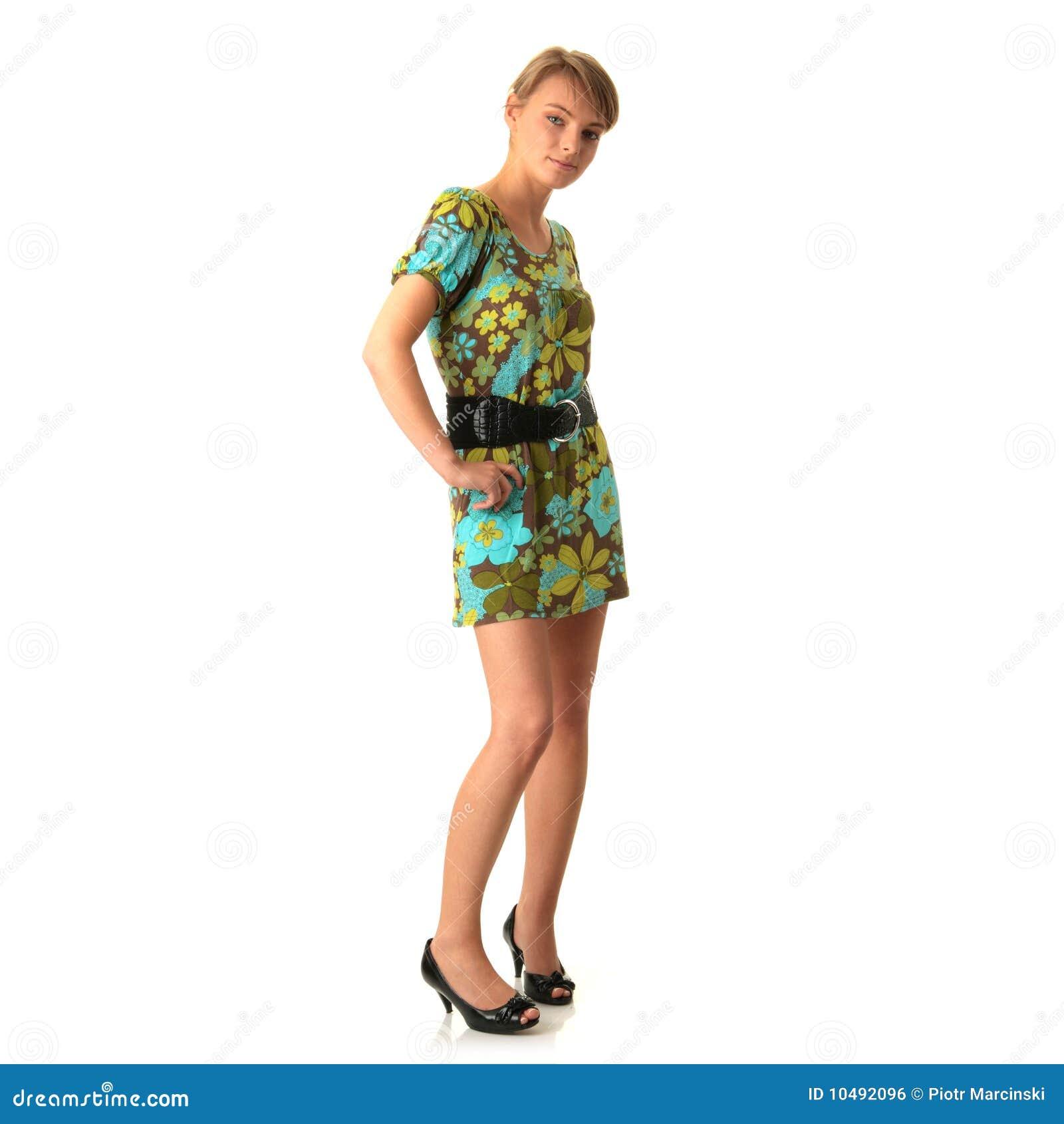 Nackte Frau in Highheels — Stockfoto © piotr_marcinski