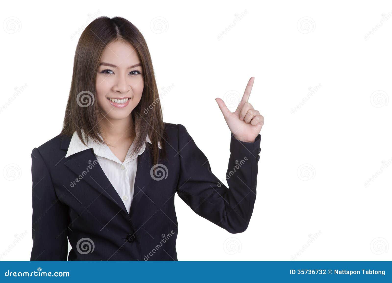 Attraktive direkte Witzboldklage der Geschäftsfrau lokalisiert