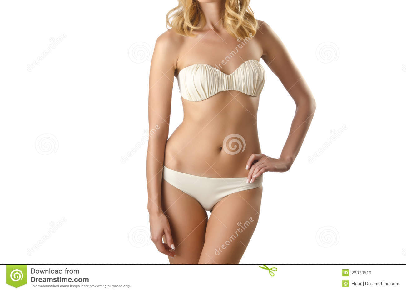 Attraktive Frau im Bikini