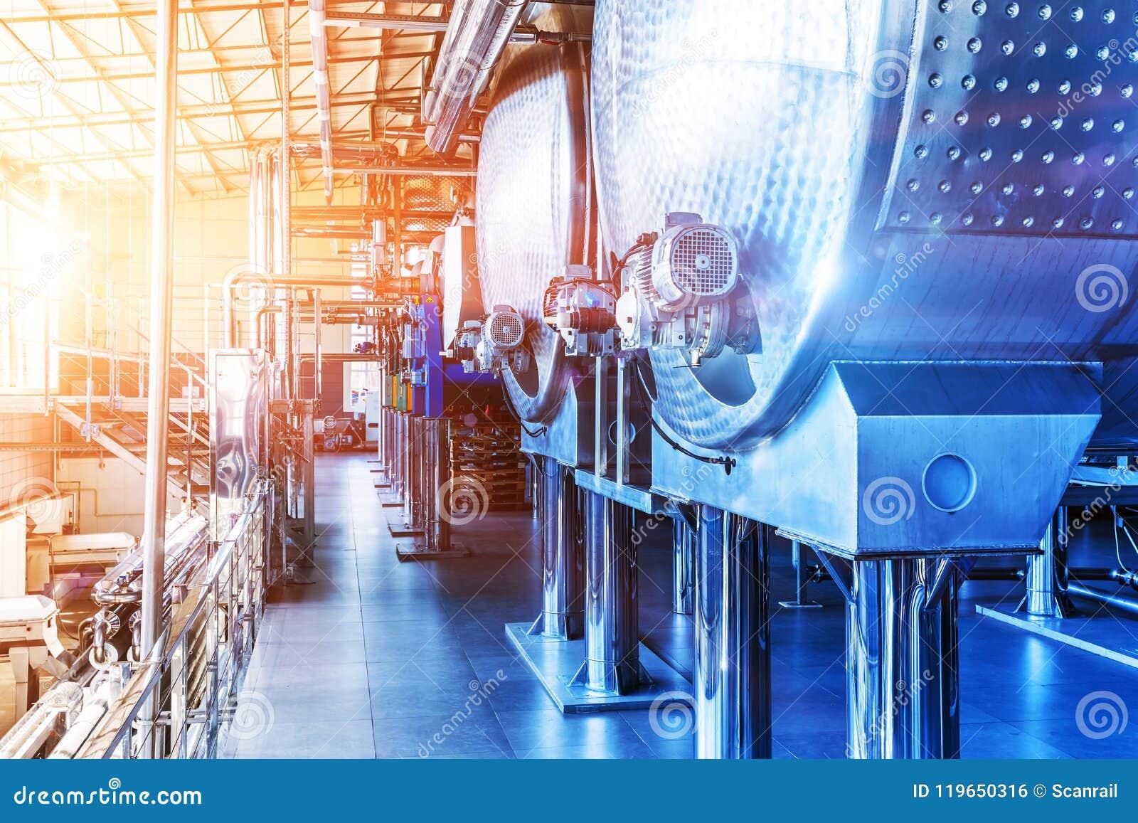 Attrezzatura industriale di fabbricazione chimica