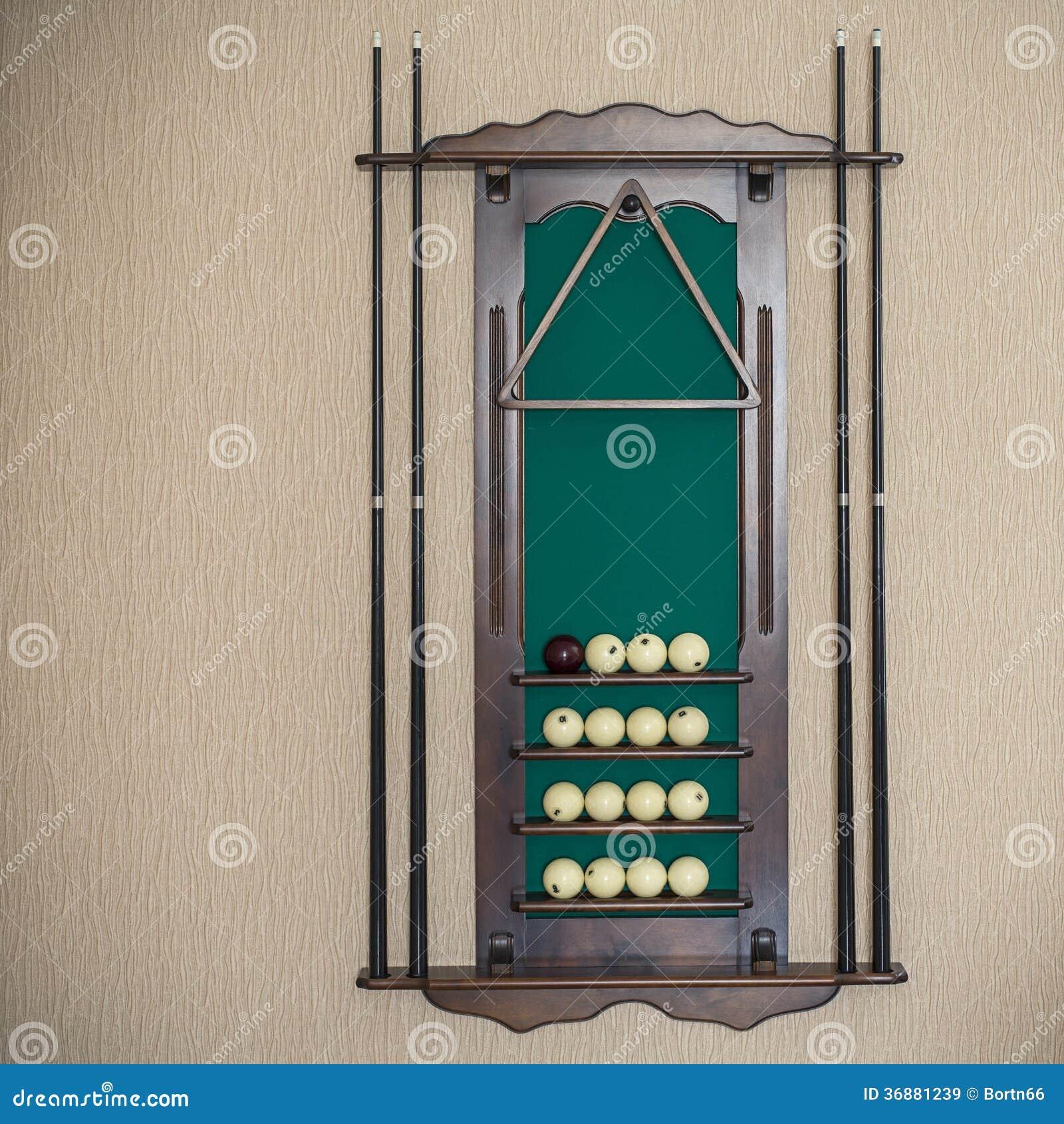 Download Attrezzatura Per Il Biliardo Immagine Stock - Immagine di gioco, bastone: 36881239