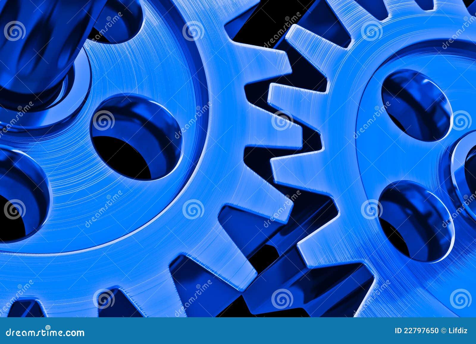 Attrezzi blu