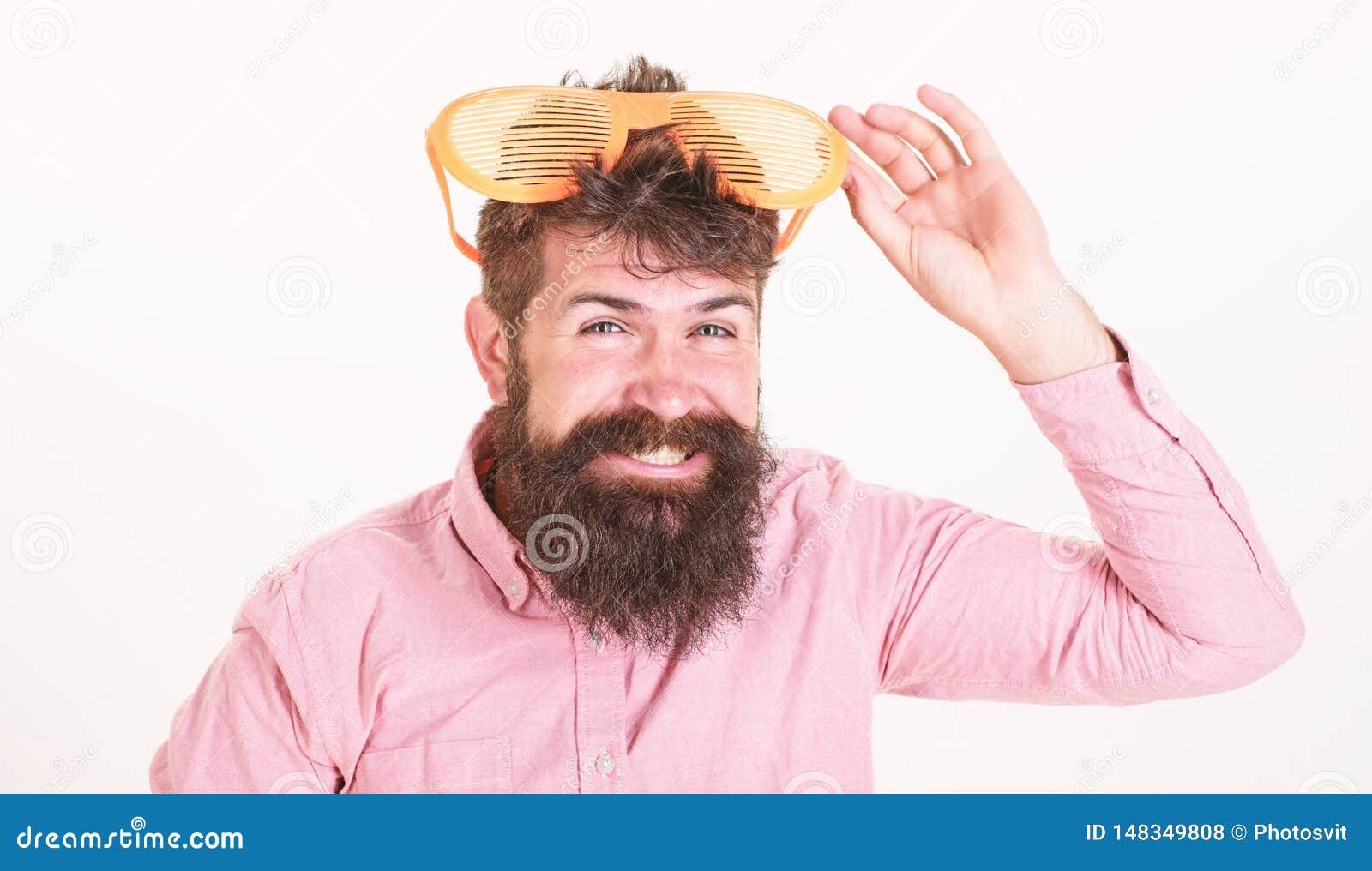 Attribut de vacances de lunettes de soleil Accessoire d ?t? de lunettes de soleil de protection oculaire Lunettes de soleil barbu