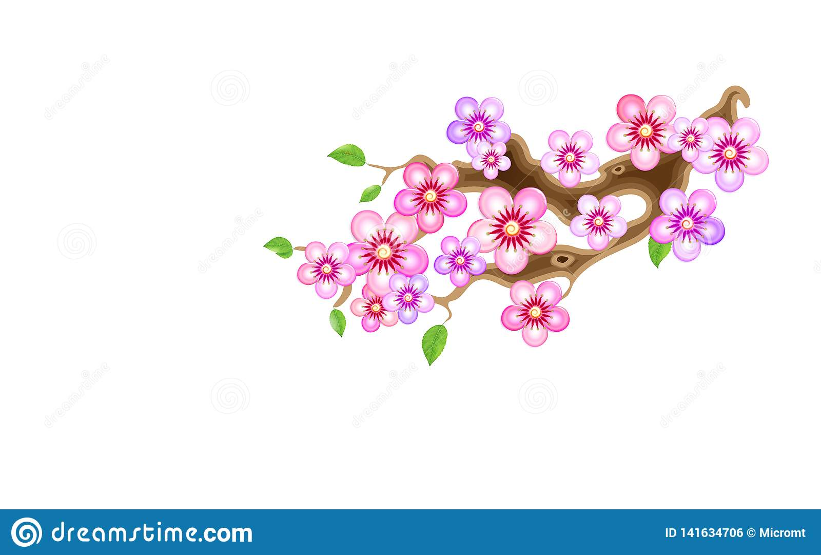 Absolutely asian style cherry blossom picuture