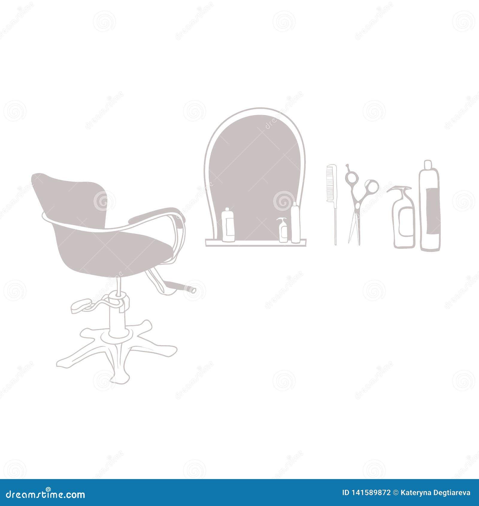 Attributs du coiffeur principal