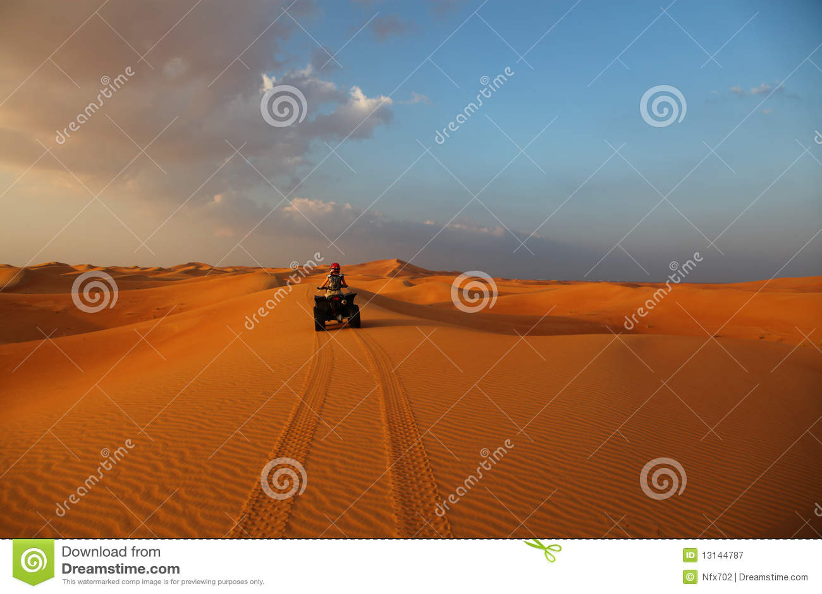 Atv沙漠乘驾