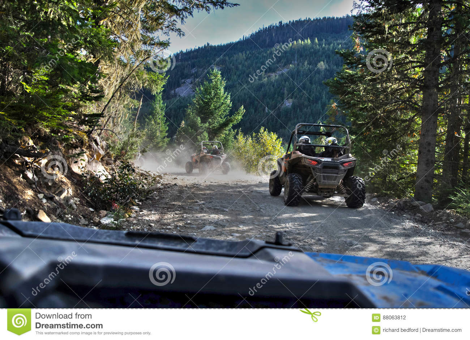 ATV driving in Whistler