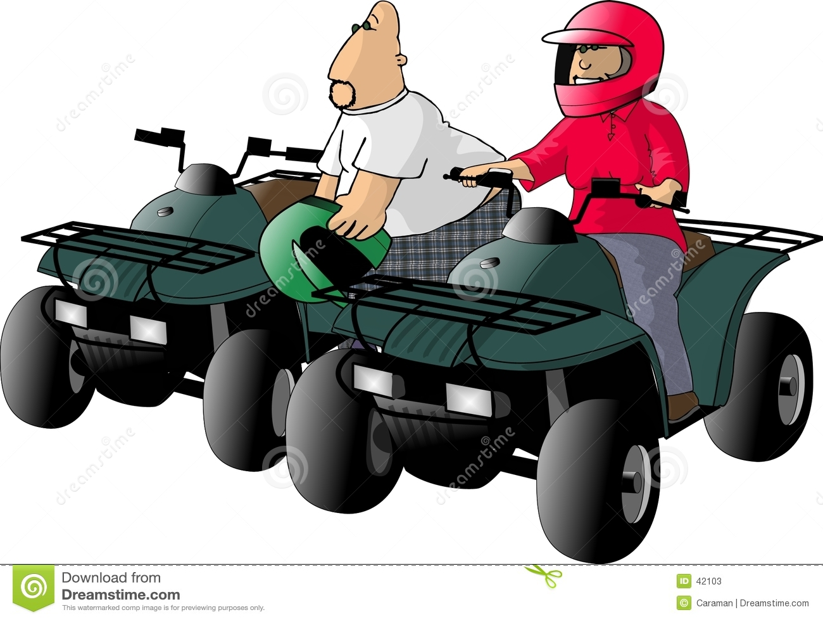 ATV Mitfahrer