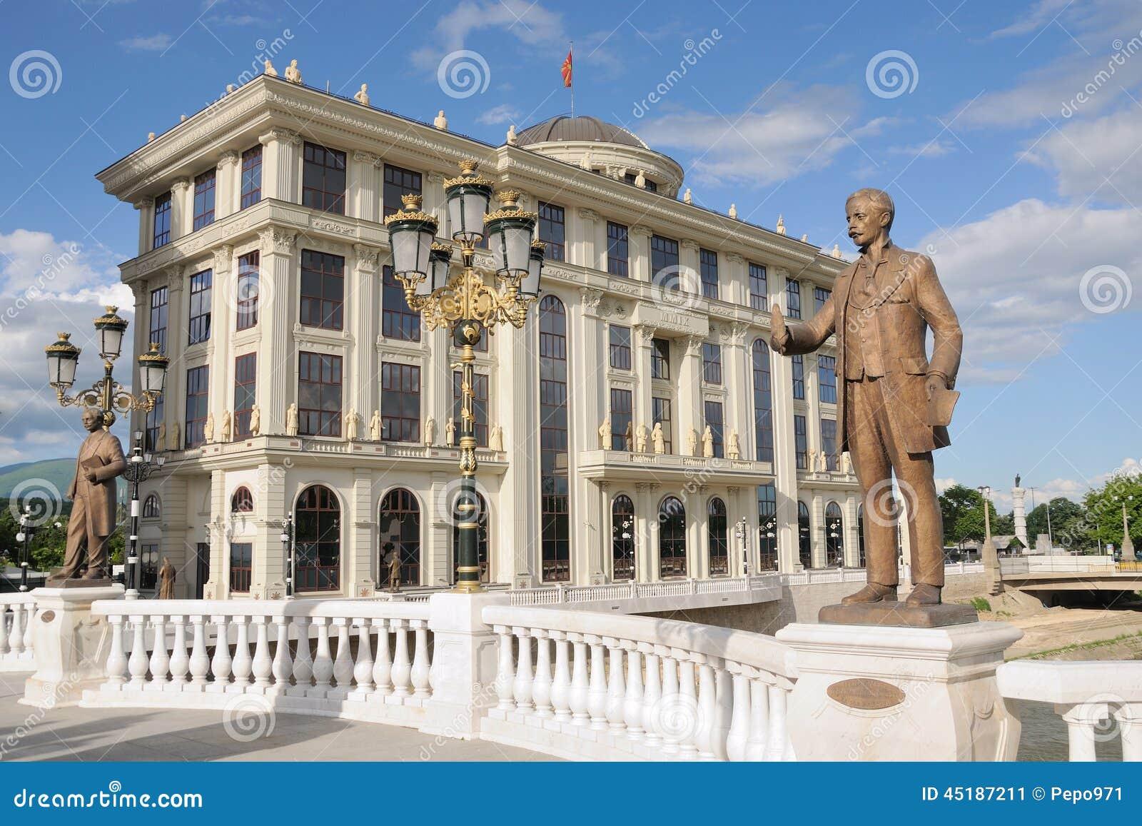 Außenministerium in Skopje