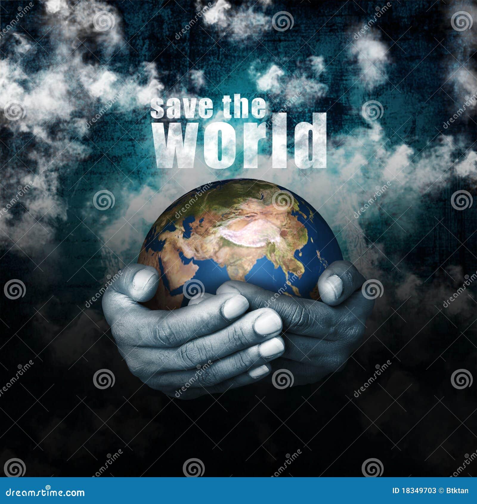 Außer/Hilfe die Welt