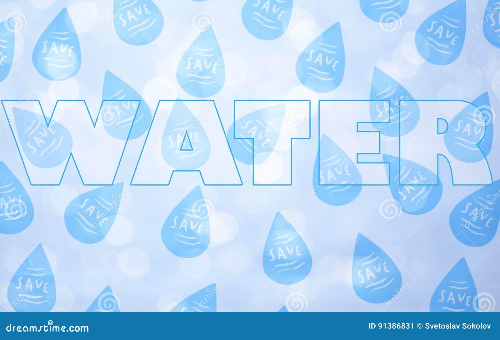 Außer Wasserkonzept