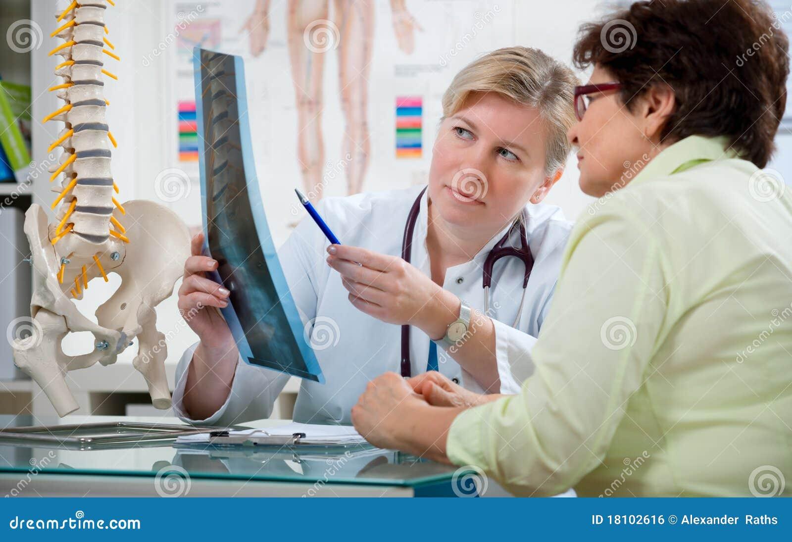 Au bureau du docteur